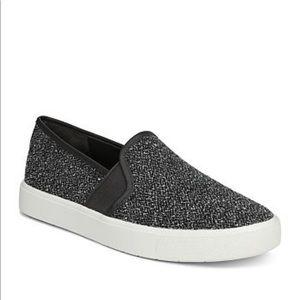 Vince Blair tweed slip on sneakers